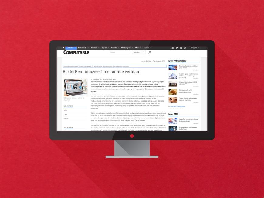 BusterRent innoveert met nieuw online verhuur systeem