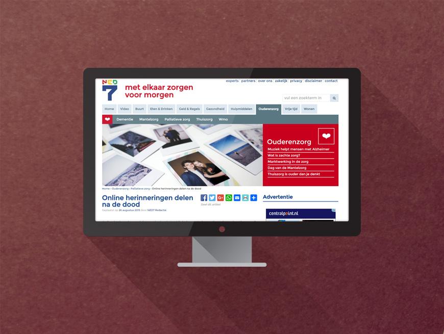 Nieuw online platform voor overledenen groeit snel