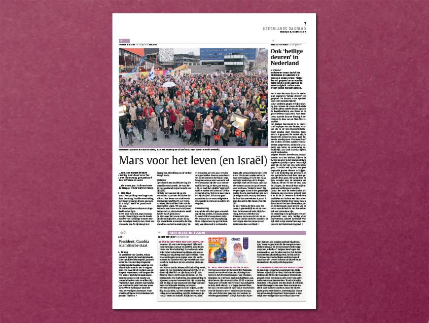 Mars voor het leven - Nederlands Dagblad