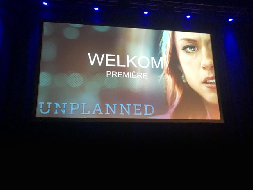 """Abby Buwalda is voorstander van abortus en keek de populaire christelijke film 'Unplanned': """"Ik vind de film gevaarlijk"""""""