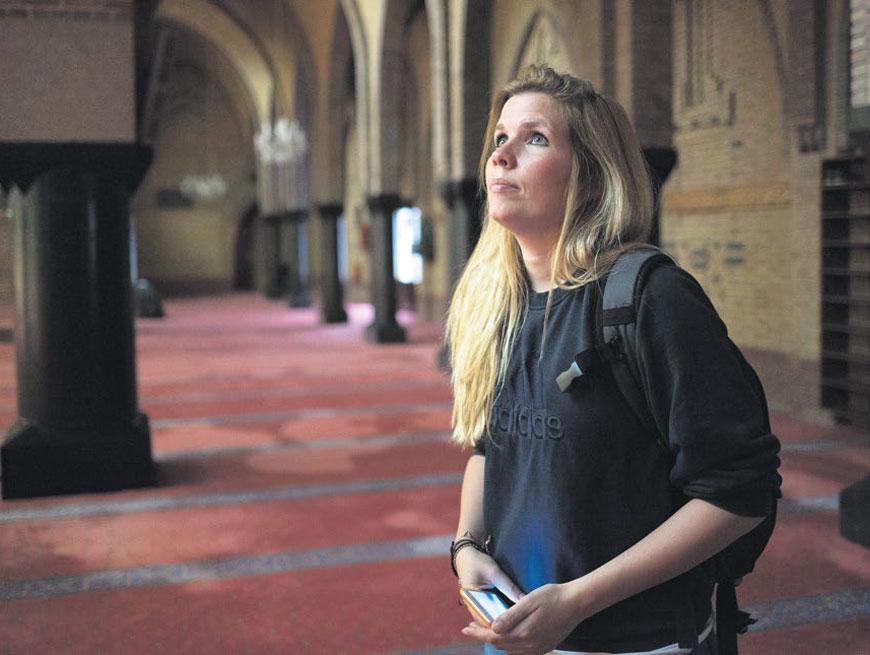 Kerk en moskee in Amsterdam | Tekst: Sjoukje Dijkstra